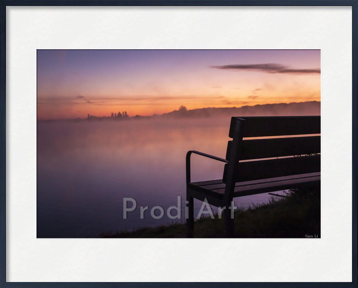Silence de Caro Li, Prodi Art, mer, paysage, paysage, plage, plage, mer, levé de soleil, lever du soleil