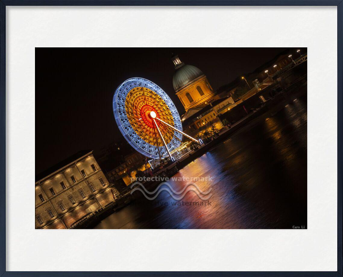 Toulouse de Caro Li, Prodi Art, Haute-Garonne, toulouse, nuit, manège, roue, nuit, la grave, occitanie