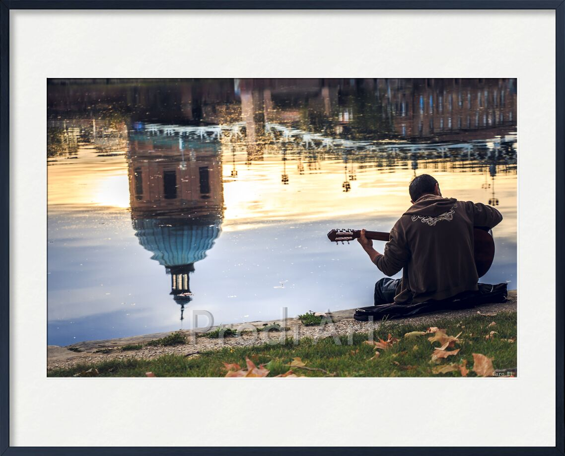 Poèsie de Caro Li, Prodi Art, Photographie, ville, ville, rue, rue, réflexion, toulouse
