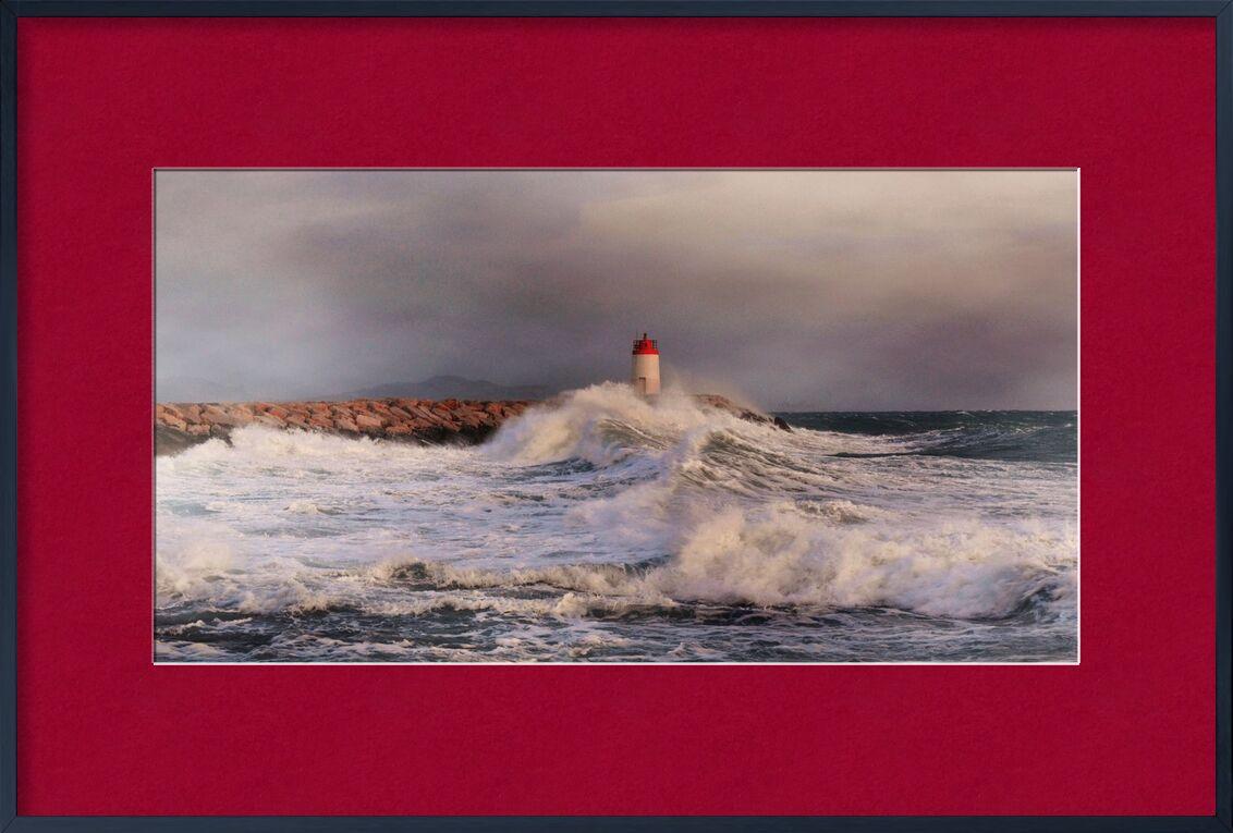 Tempête de Frédéric Traversari, Prodi Art, tempête, phare, mer