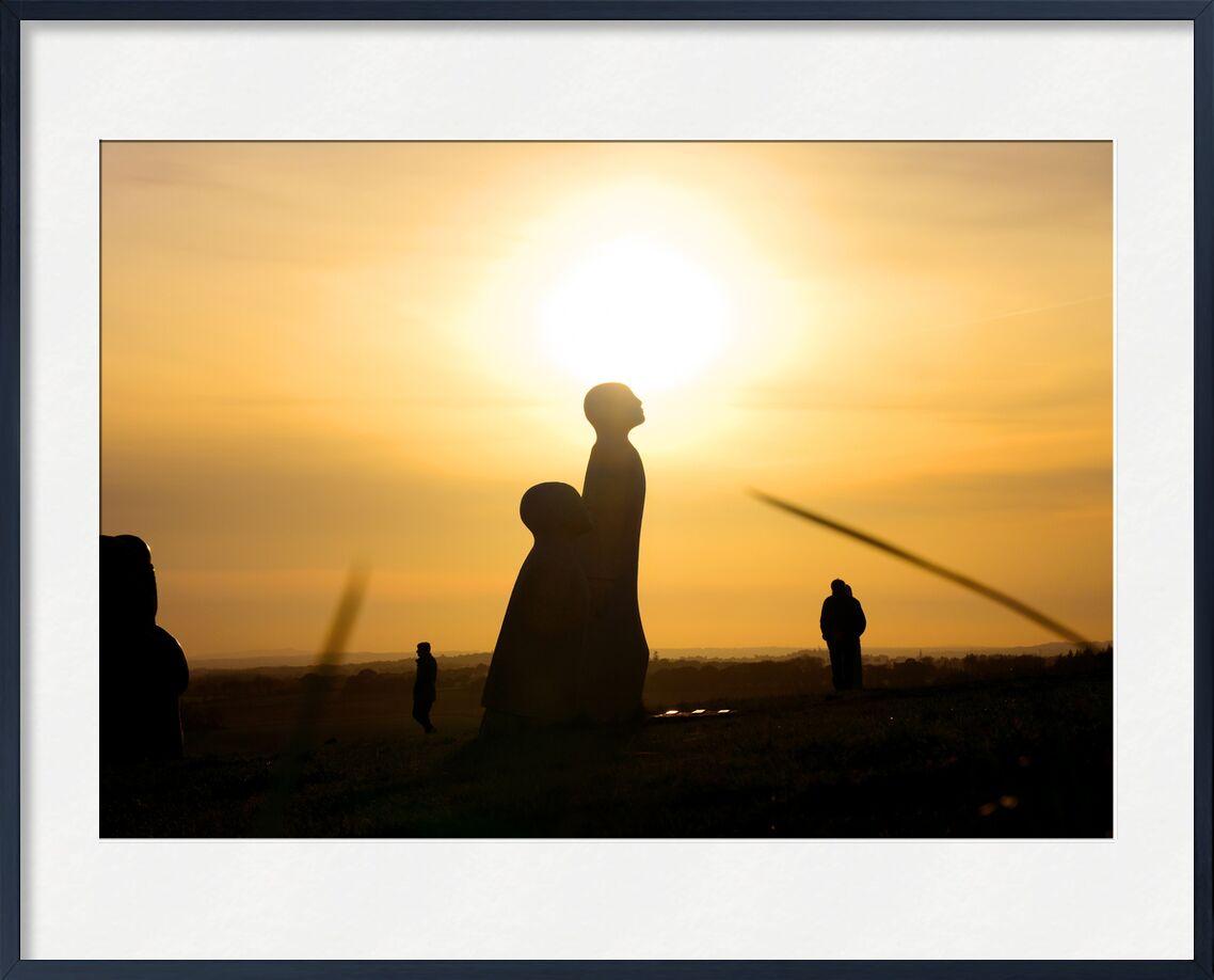 La vallée des saints de Loïse Raoult, Prodi Art, saints, soleil, bretagne, coucher de soleil, Finistère