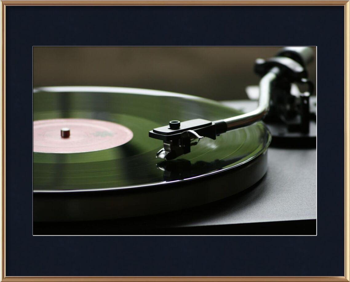 Vinyl from Aliss ART, Prodi Art, bright, mono, vinyl, turntable, sound, round, record, play, data