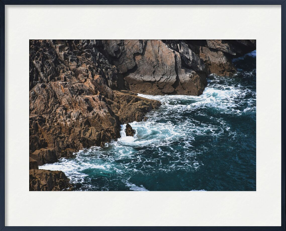 Légers Remous de Loïse Raoult, Prodi Art, rochers, eau, bretagne, vagues, falaises, océan, mer, remous