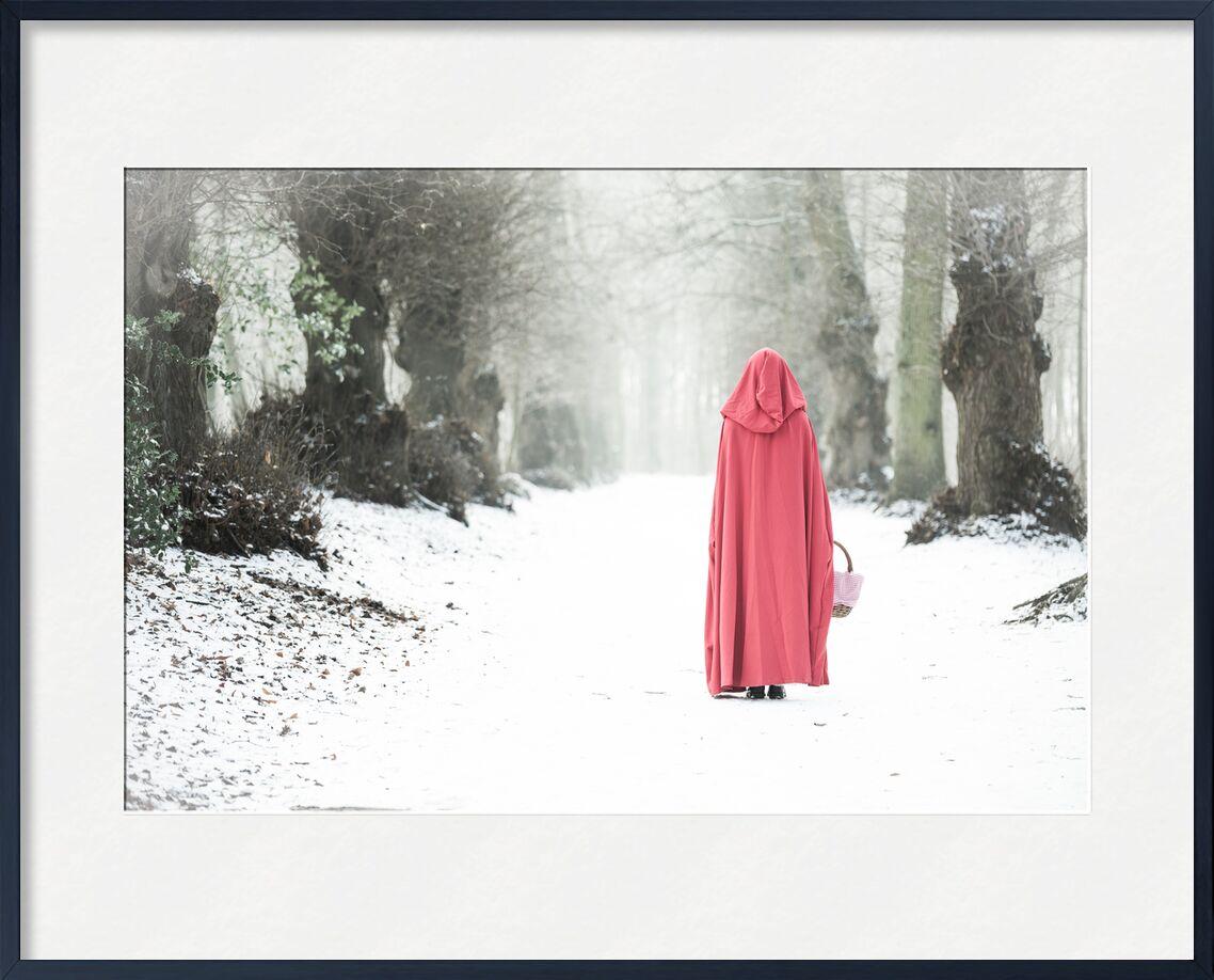 Promenade dans le bois de Eric-Anne Jordan-Wauthier, Prodi Art, portrait, Chaperon Rouge, E Photographie, Touche haute