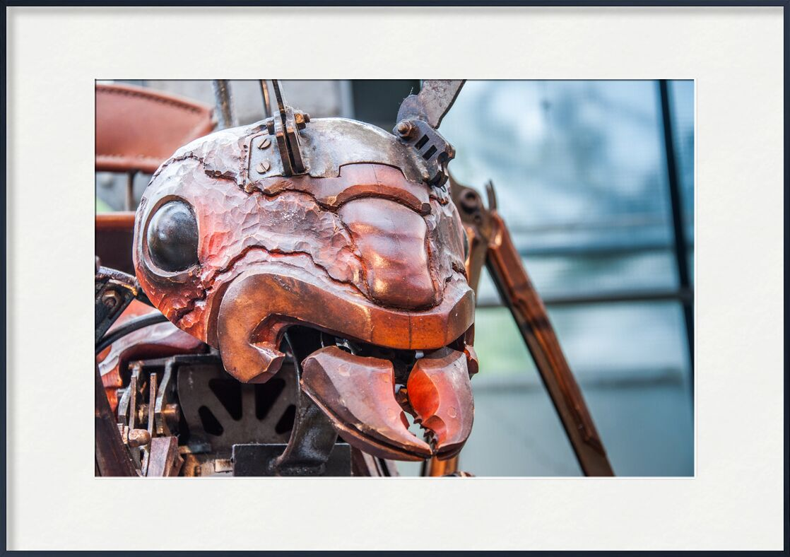 Fourmi - galerie des Machines de Marie Guibouin, Prodi Art, fourmi, art, sculpture, marie guibouin, galerie, nantes, machines de l'ile