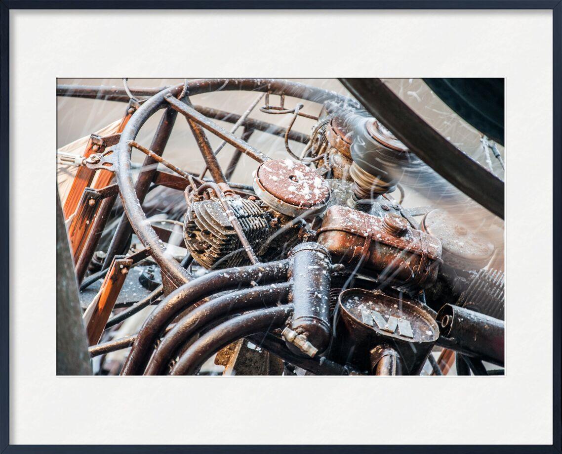 Tempête de neige - galerie des Machines de Marie Guibouin, Prodi Art, pou du ciel, métal, machines de l'ile, galerie, nantes, marie guibouin, neige, tempête
