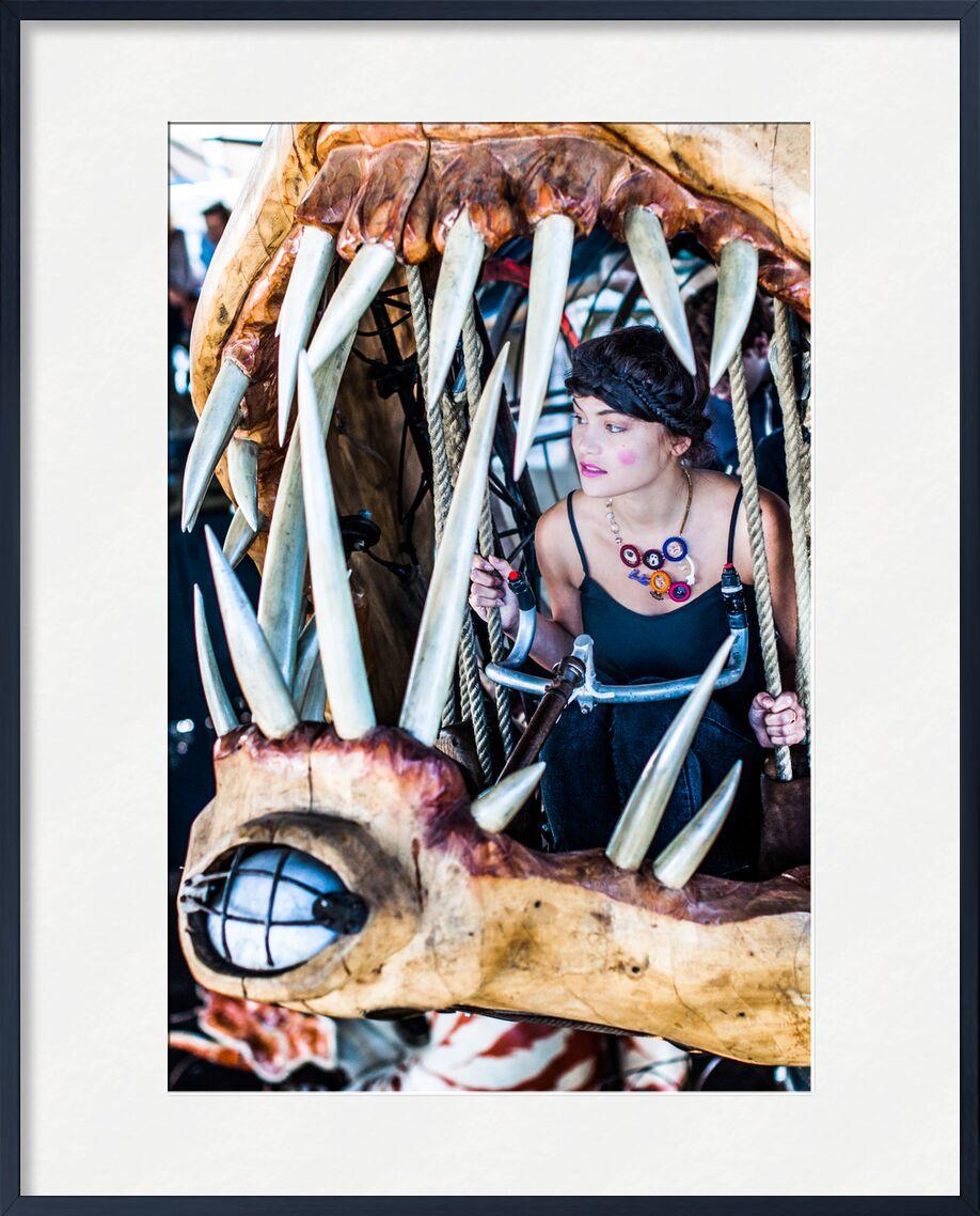 Accrochez-vous de Marie Guibouin, Prodi Art, recyclage, dents, créatrice, création, accrochez-vous, maquillage, poisson, Marin, carrousel, mode, femme, bijoux, art