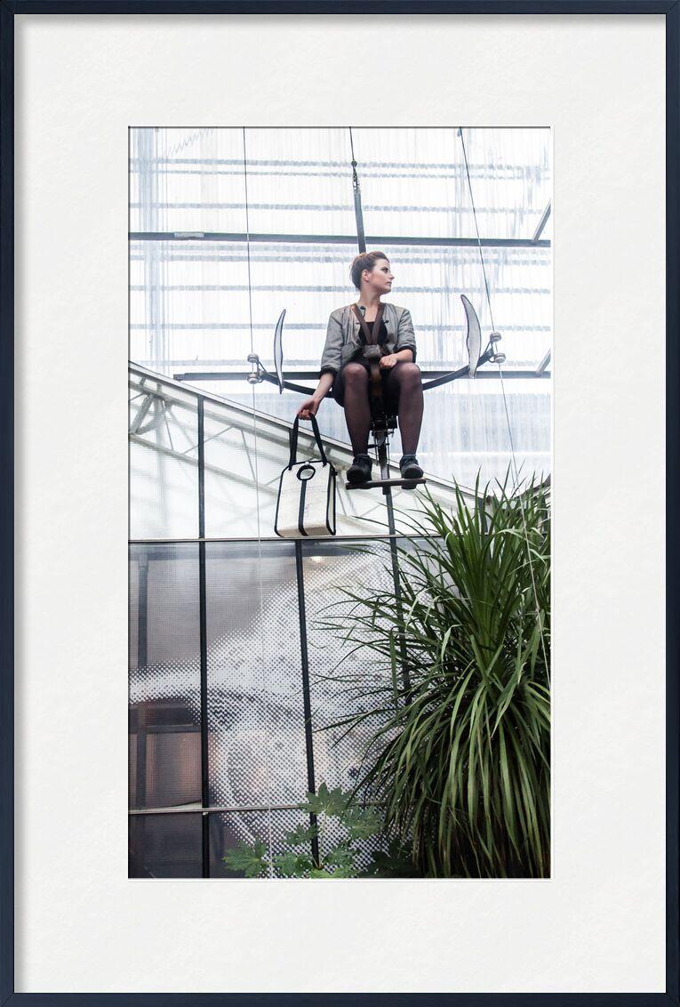 La Voilière de Marie Guibouin, Prodi Art, la voiliere, nantes, marie guibouin, plantes, recyclage, machines de l'ile, bateau, voile, femme, galerie