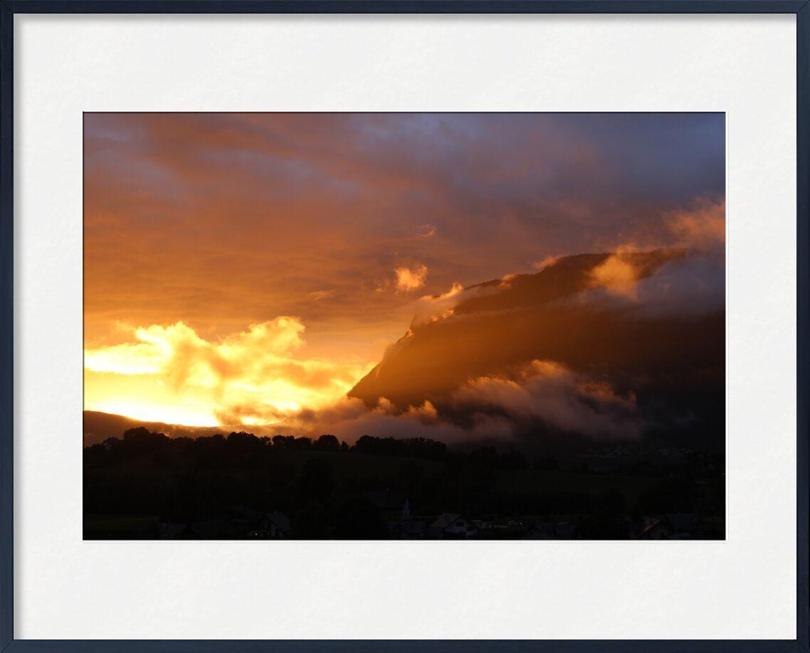 Coucher de soleil de jenny buniet, Prodi Art, montagnes, Couleur, ciel