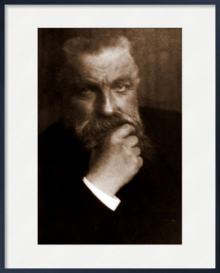 Auguste Rodin - Edward Steichen 1902 from AUX BEAUX-ARTS, Prodi Art, photo, old photo, edward steichen, Rodin, Auguste Rodin, beard, photo d'art