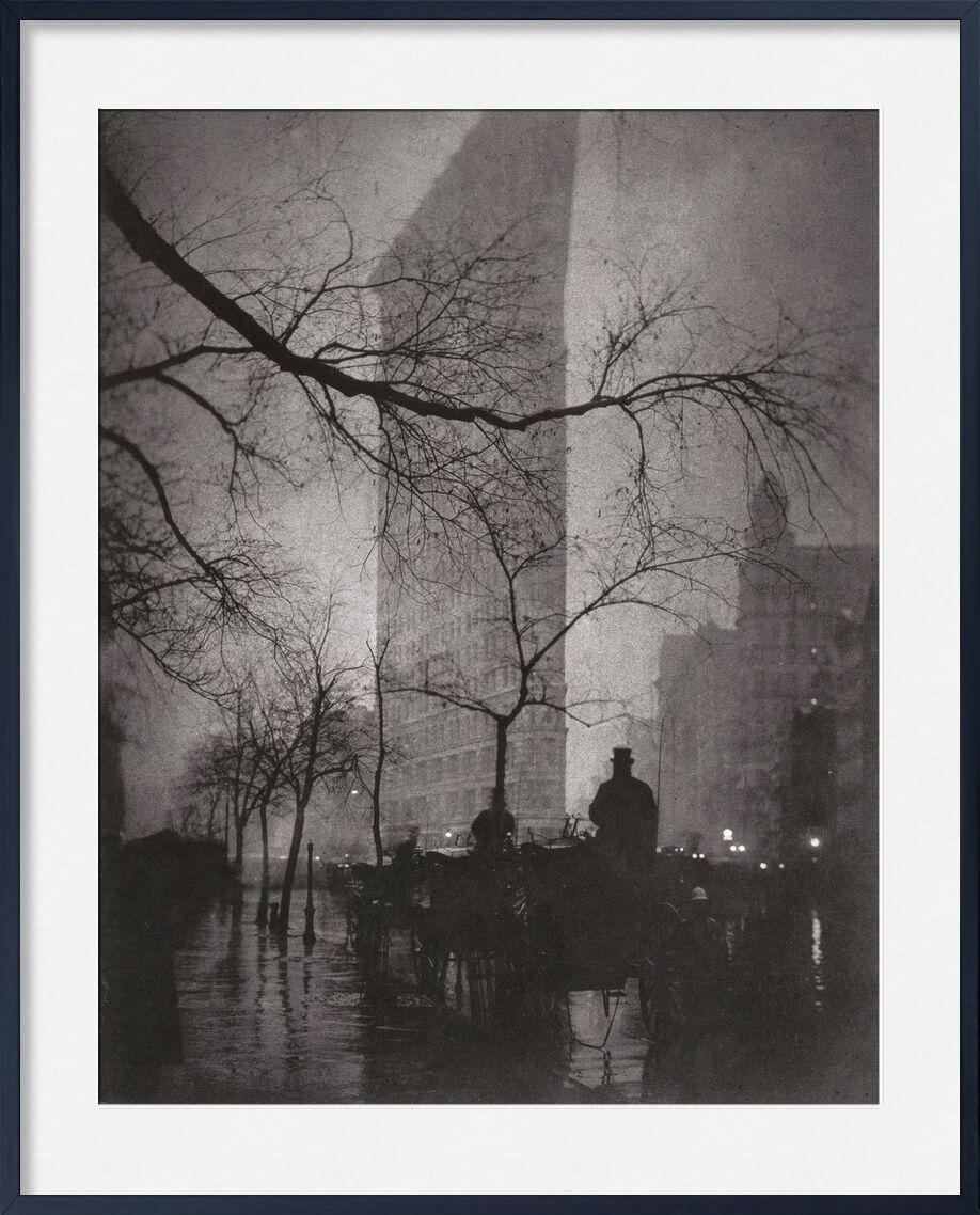 Flatiron Building, New York - Edward Steichen 1904 from AUX BEAUX-ARTS, Prodi Art, New-York, building, building, edward steichen, flat building, flat building