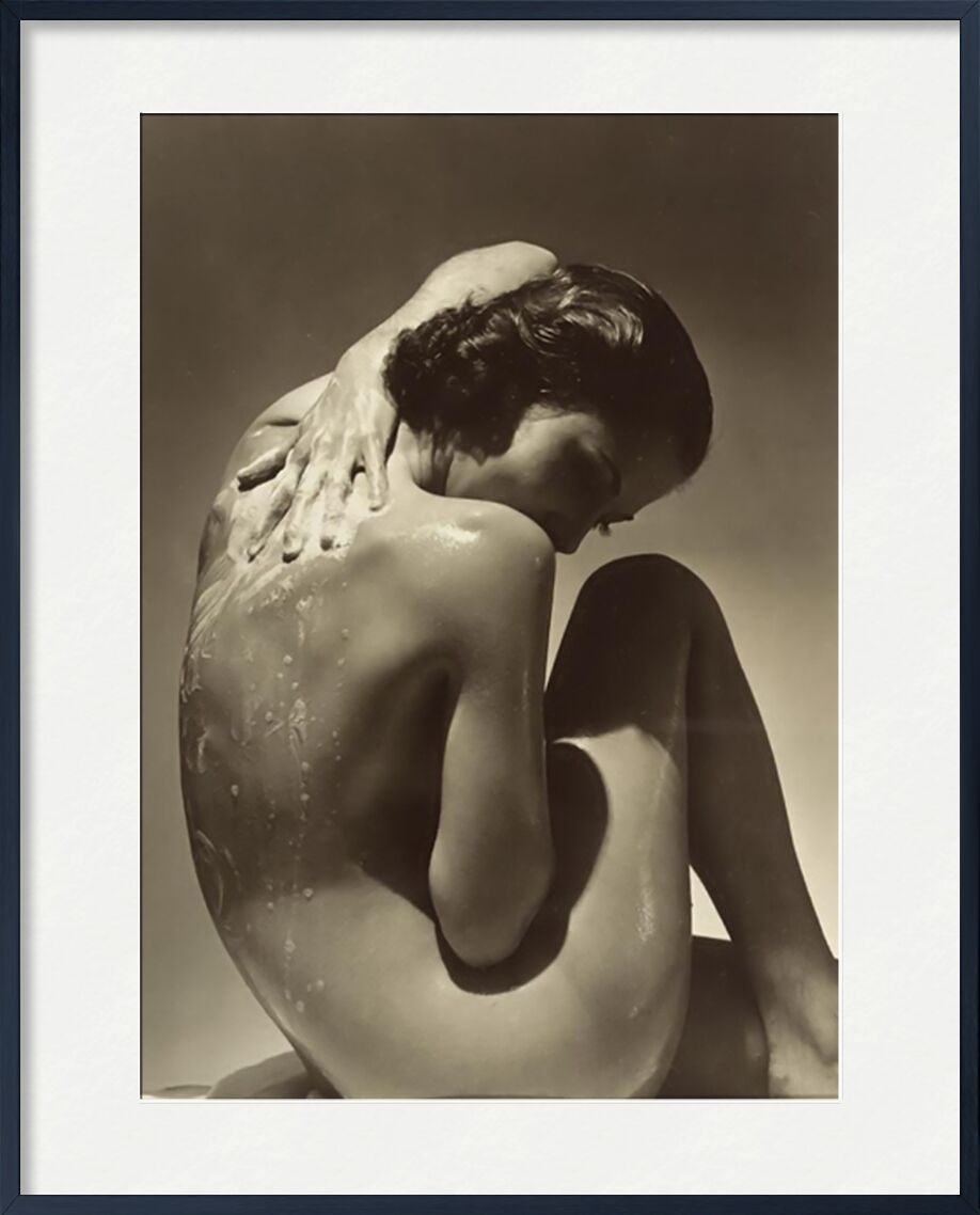 Back - Edward Steichen 1923 from AUX BEAUX-ARTS, Prodi Art, shower, savon, edward steichen, woman, two, nude