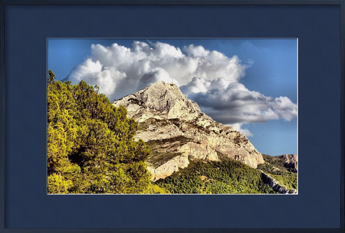 Montagne de la Sainte Victoire de Frédéric Traversari, Prodi Art, provence, Sainte Victoire, Pays d'Aix