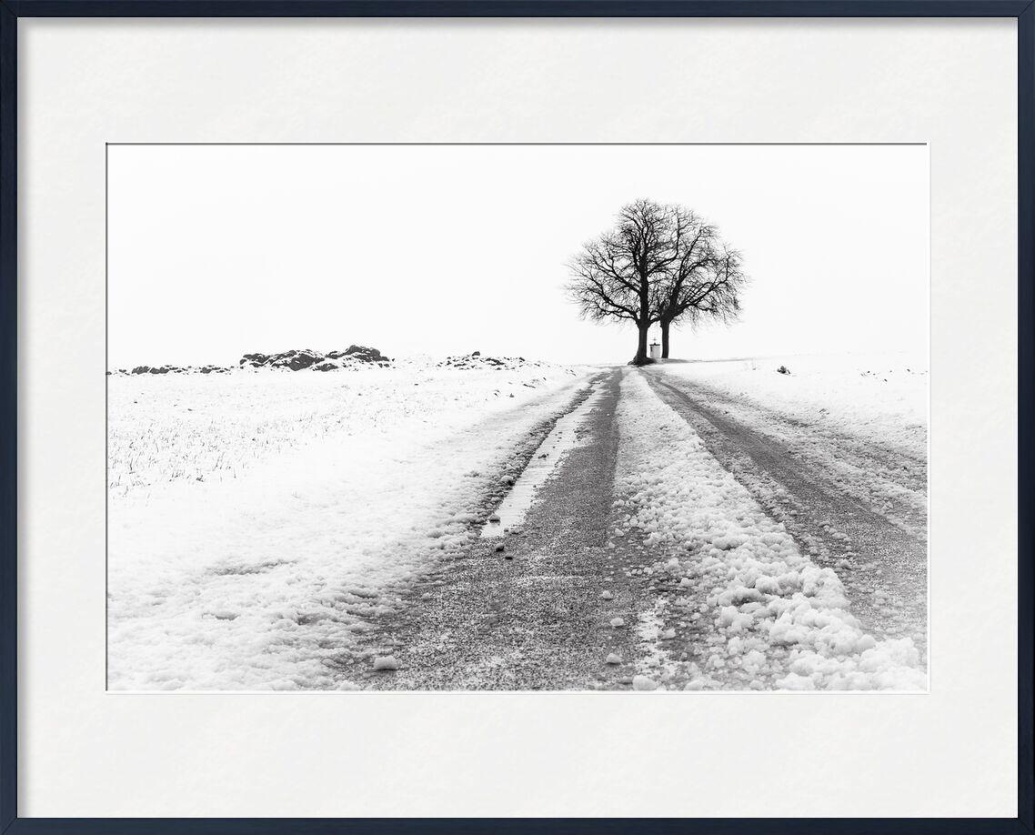 La Fin du Chemin de Eric-Anne Jordan-Wauthier, Prodi Art, neige, paysage, Photographie, Hivers, HighKey