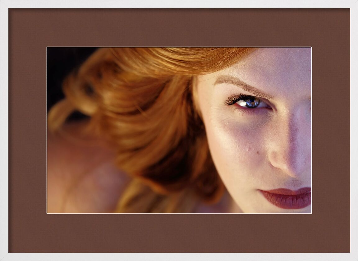 Heart of the face from Pierre Gaultier, Prodi Art, beautiful, close-up, eye, girl, hair, pretty, woman