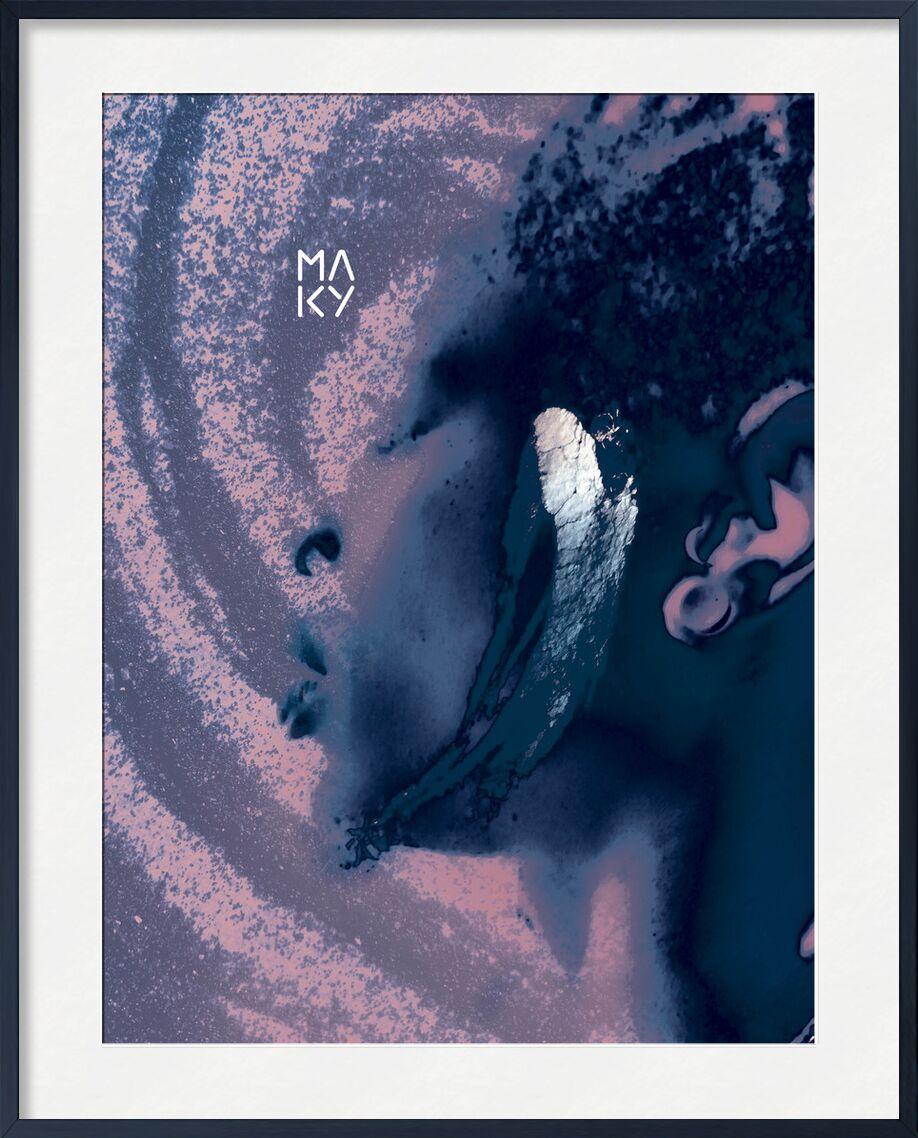 気1.3 from Maky Art, Prodi Art, texture, portrait, visual art, digital collage