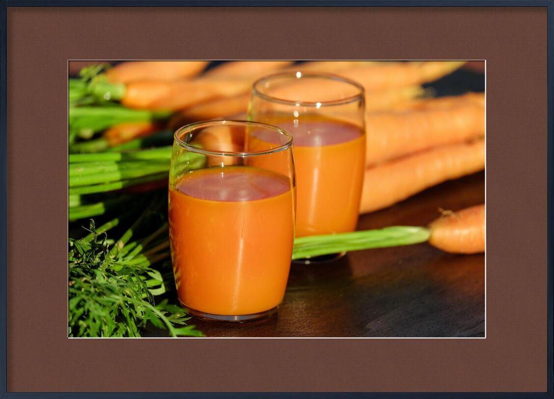 Carrot juice from Pierre Gaultier, Prodi Art, wooden, wood, vegetables, vegetable juice, table, orange, nutrition, leaf, juice, healthy, fresh, food, drinking glasses, delicious, color, close-up, carrots, carrot juice, beverage