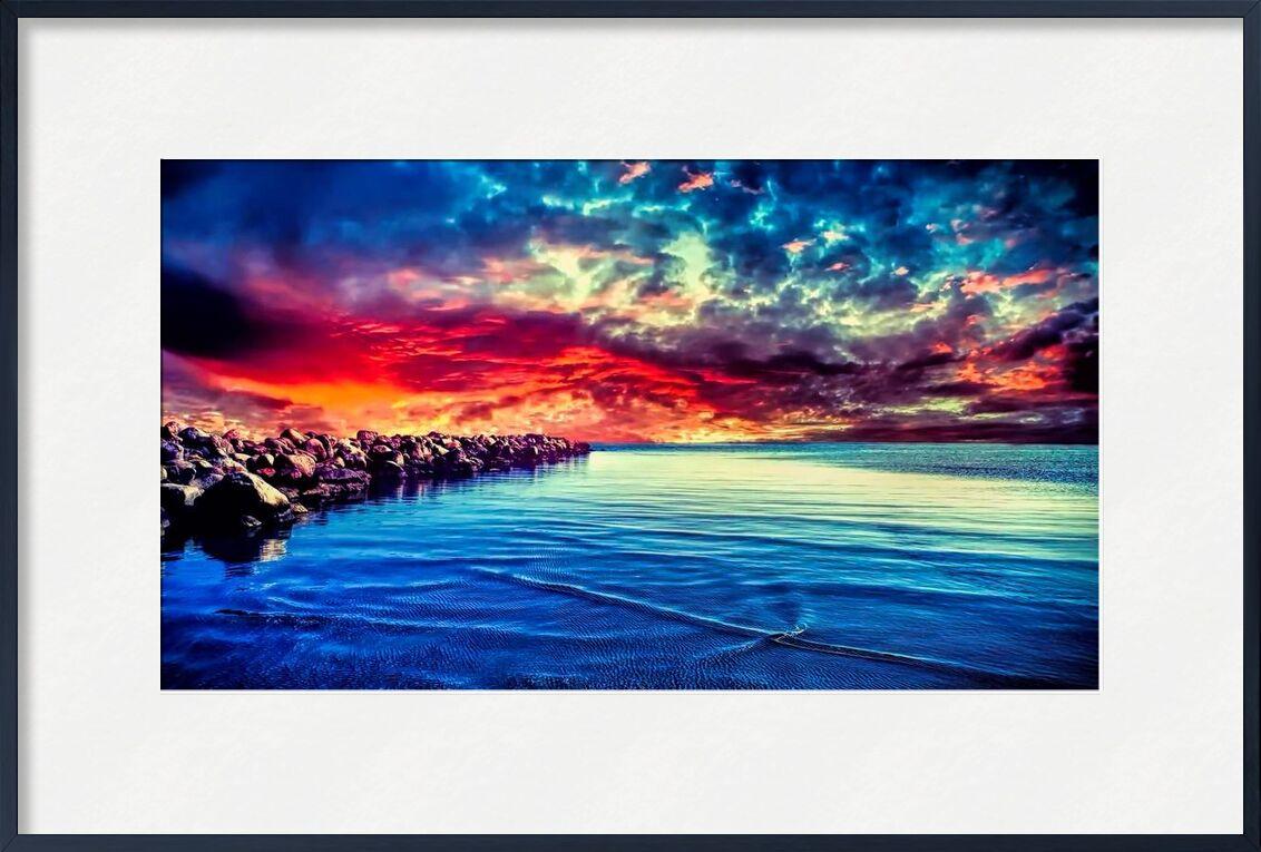 Fantastic from Pierre Gaultier, Prodi Art, beach, calm, dawn, dramatic, dusk, evening, island, landscape, nature, ocean, outdoors, reflection, rocks, sea, seascape, seashore, sky, summer, Sun, sun glare, sunrise, sunset, travel, water