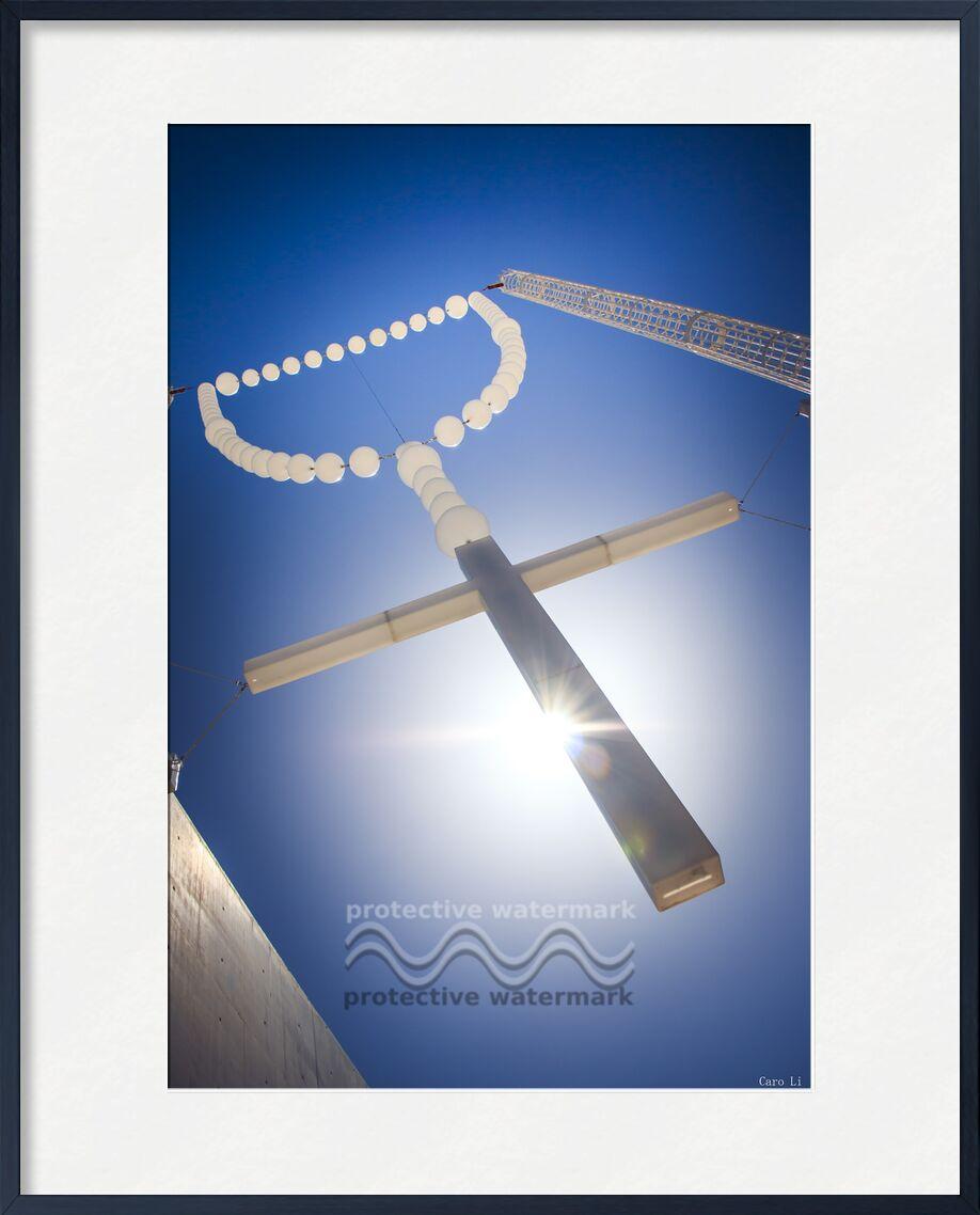 la croix de Caro Li, Prodi Art, chapelet, croix, traverser, église, Photographie, Fatima, Cher Li