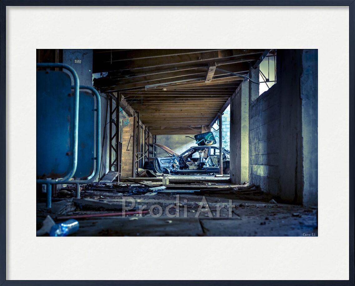 The Car from Caro Li, Prodi Art, Urbex, Dear Li, Photography, abandonned, abandoned places, car