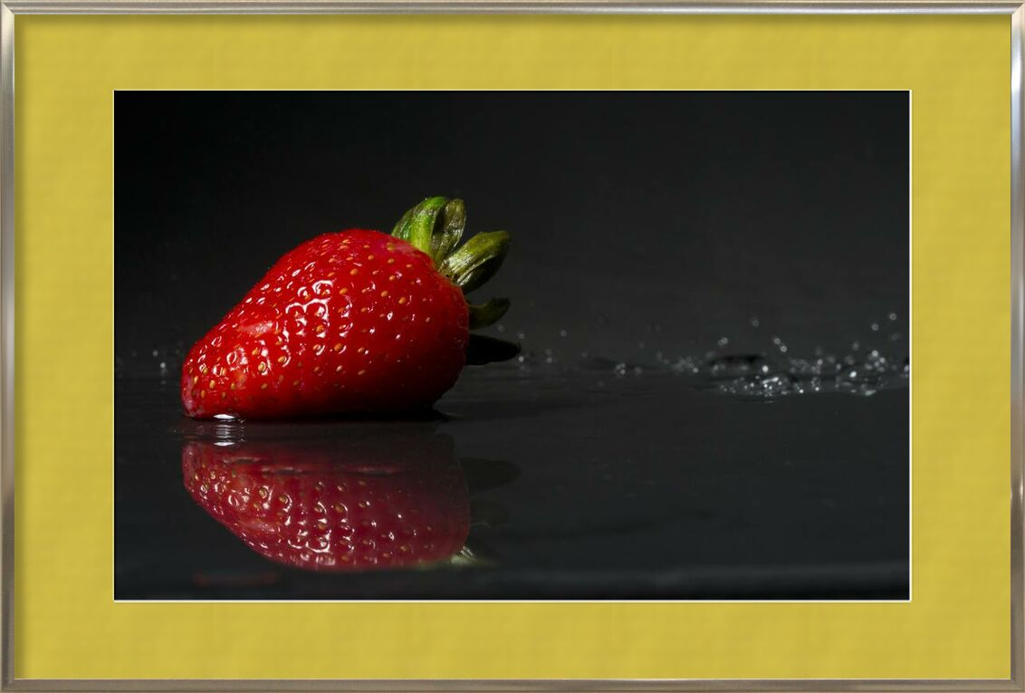 La fraise de Pierre Gaultier, Prodi Art, images, domaine, public, humide, doux, fraise, la vie, encore, réflexion, rouge, juteux, fruit, fraîcheur, Frais, nourriture, gourmet, délicieux, gros plan, baie