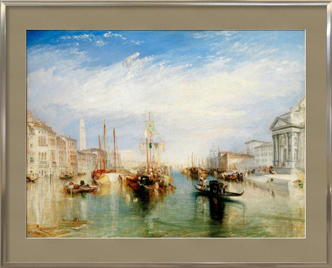 Venice, from the Porch of Madonna della Salute - WILLIAM TURNER 1835 von AUX BEAUX-ARTS, Prodi Art, Canal Grande, Malerei, WILLIAM TURNER, Wolken, blau, Himmel, Italien, Venedig