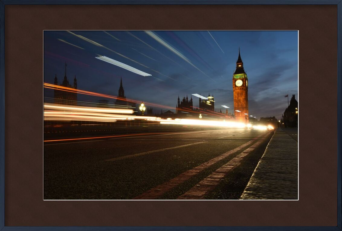 Big ben, out of time from Aliss ART, Prodi Art, architecture, blur, blurry, building, city, evening, lights, london, long-exposure, road, street, time lapse, traffic, Urban, big ben, blurred, light streaks, night photography