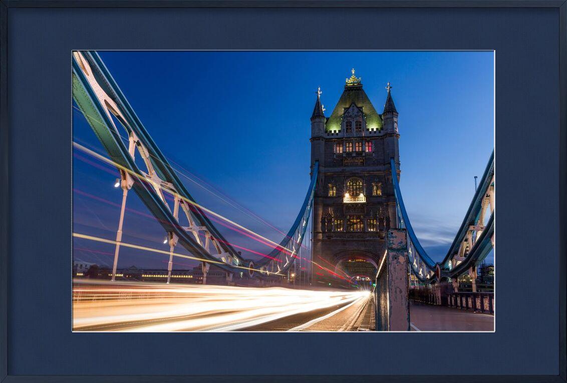 Tower bridge from Aliss ART, Prodi Art, Tower Bridge, Thames, lightpainting, traffic, Thames, night, long-exposure, london, lights, pont