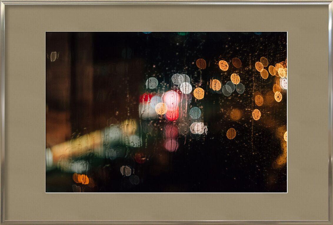 Lumière et reflets de Pierre Gaultier, Prodi Art, abstrait, art, Contexte, brouiller, foncé, conception, verre, illuminé, illustration, lumières, luminescence, brouillard, modèle, rétro, science, texture, eau, humide, arrangement, Les données, défocalisé, élément, pluie