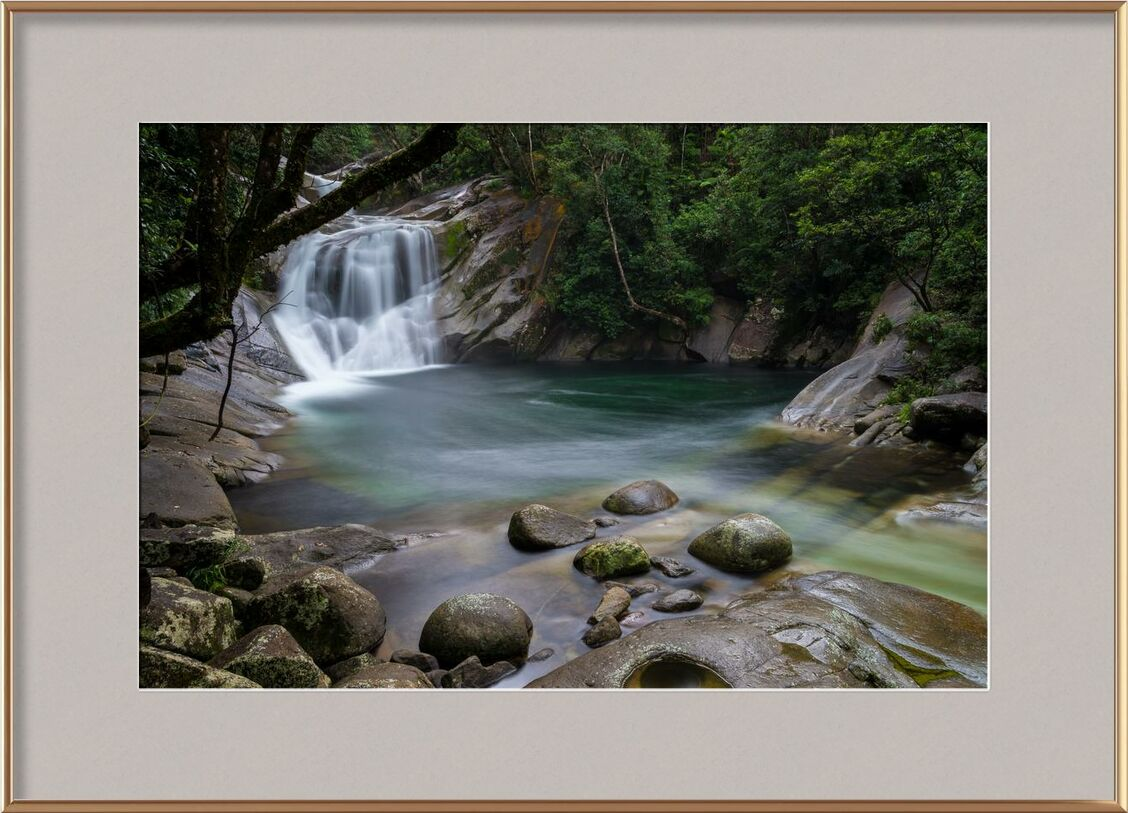 S'évanouir dans la nature from Aliss ART, Prodi Art, creek, flow, landscape, nature, outdoors, River, rocks, stream, water, cascade, long-exposure