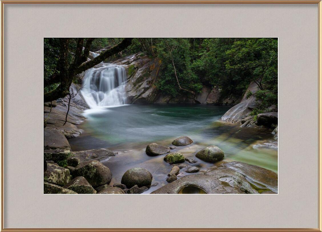 S'évanouir dans la nature de Aliss ART, Prodi Art, ruisseau, couler, paysage, nature, en plein air, fleuve, des roches, courant, eau, Cascade, longue exposition