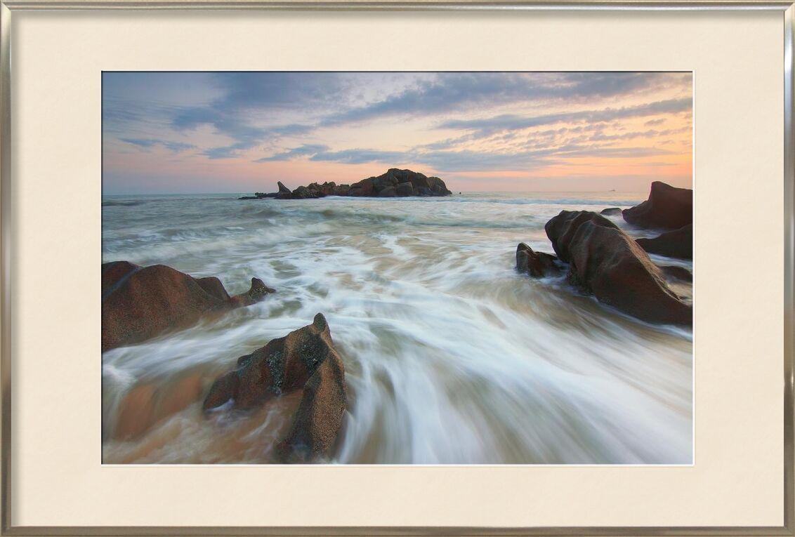 Nuages sur terre from Aliss ART, Prodi Art, HD wallpaper, water, sunset, sky, seashore, seascape, sand, rocks, ocean, nature, dusk, dawn, beach, sea
