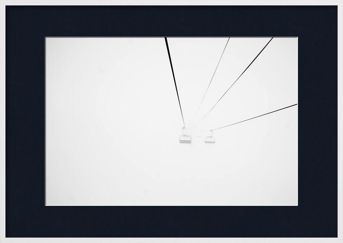 Vers l'inconnu from Aliss ART, Prodi Art, fog, foggy, cable car, streetcar, funicular, ski lift