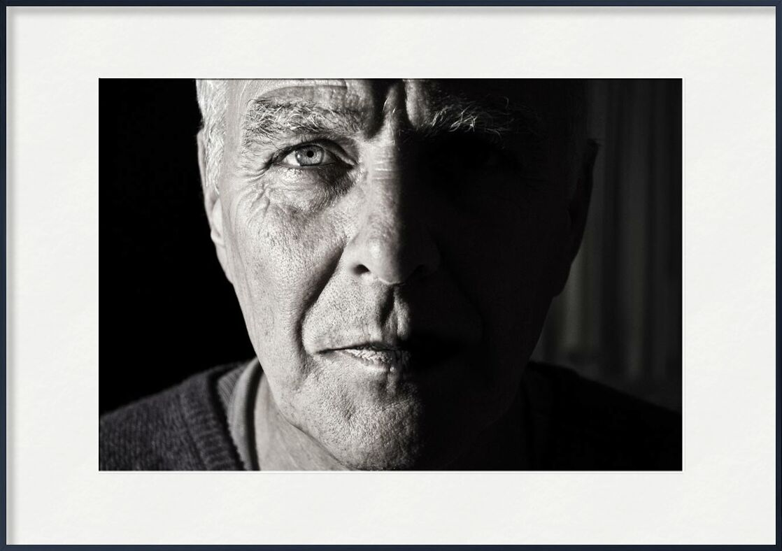 Temps marqué from Aliss ART, Prodi Art, wrinkles, grandparent, grandpa, elderly, elder, crinkles, portrait, old, man, black-and-white