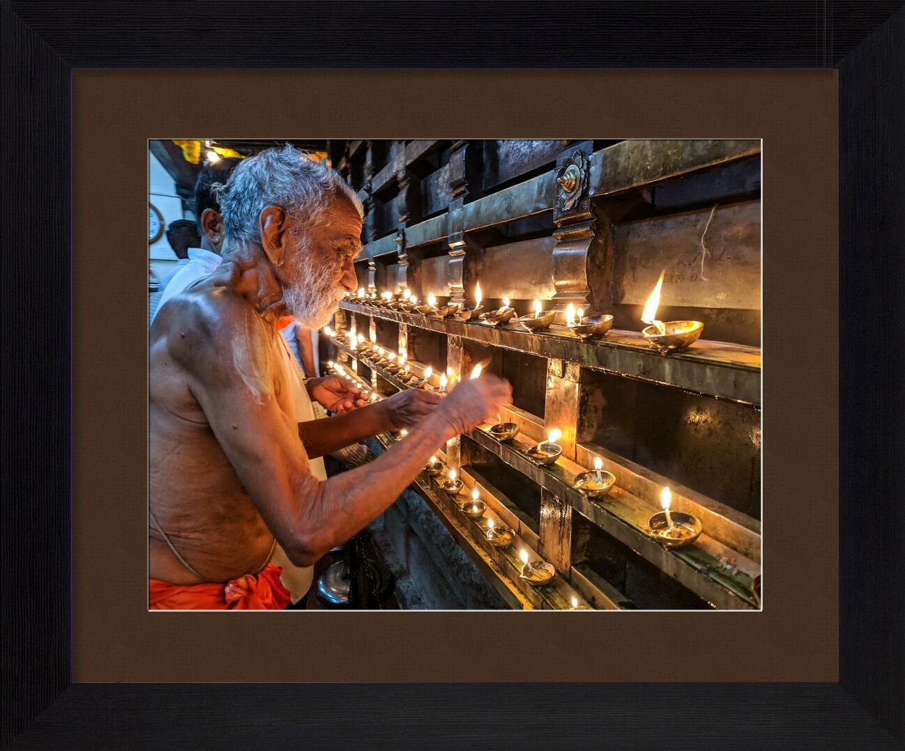 Croyance from Aliss ART, Prodi Art, person, old, man, flames, elderly, Candlelights