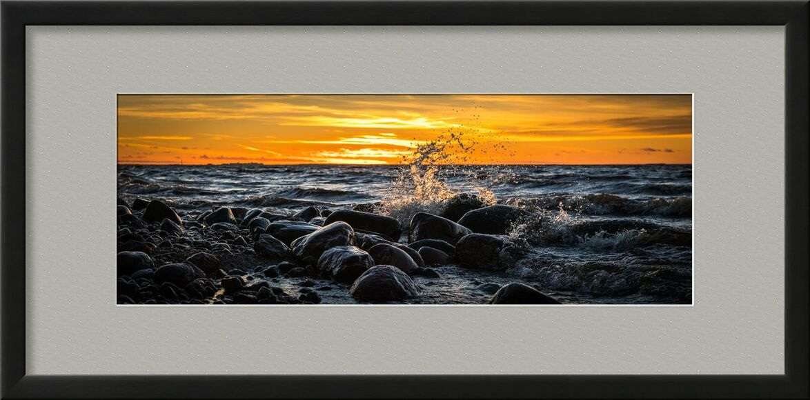 Rochers sur mer from Aliss ART, Prodi Art, tide, shore, waves, water, travel, time-lapse, sunset, Sun, splash, sky, seashore, seascape, sea, rocks, , ocean, long-exposure, landscape, evening, dusk, dawn, clouds, beach