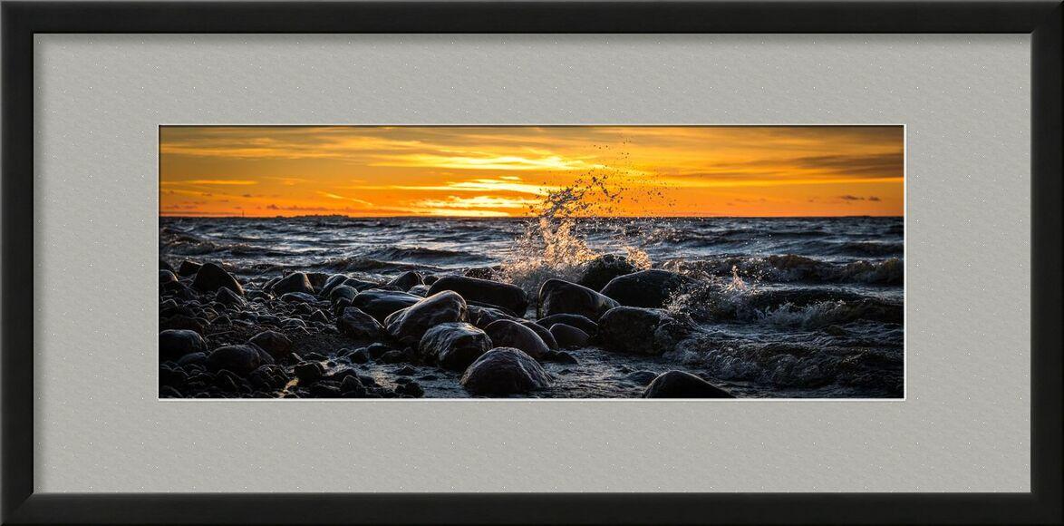 Rochers sur mer from Aliss ART, Prodi Art, tide, shore, waves, water, travel, time-lapse, sunset, Sun, splash, sky, seashore, seascape, sea, rocks, panoramic, ocean, long-exposure, landscape, evening, dusk, dawn, clouds, beach
