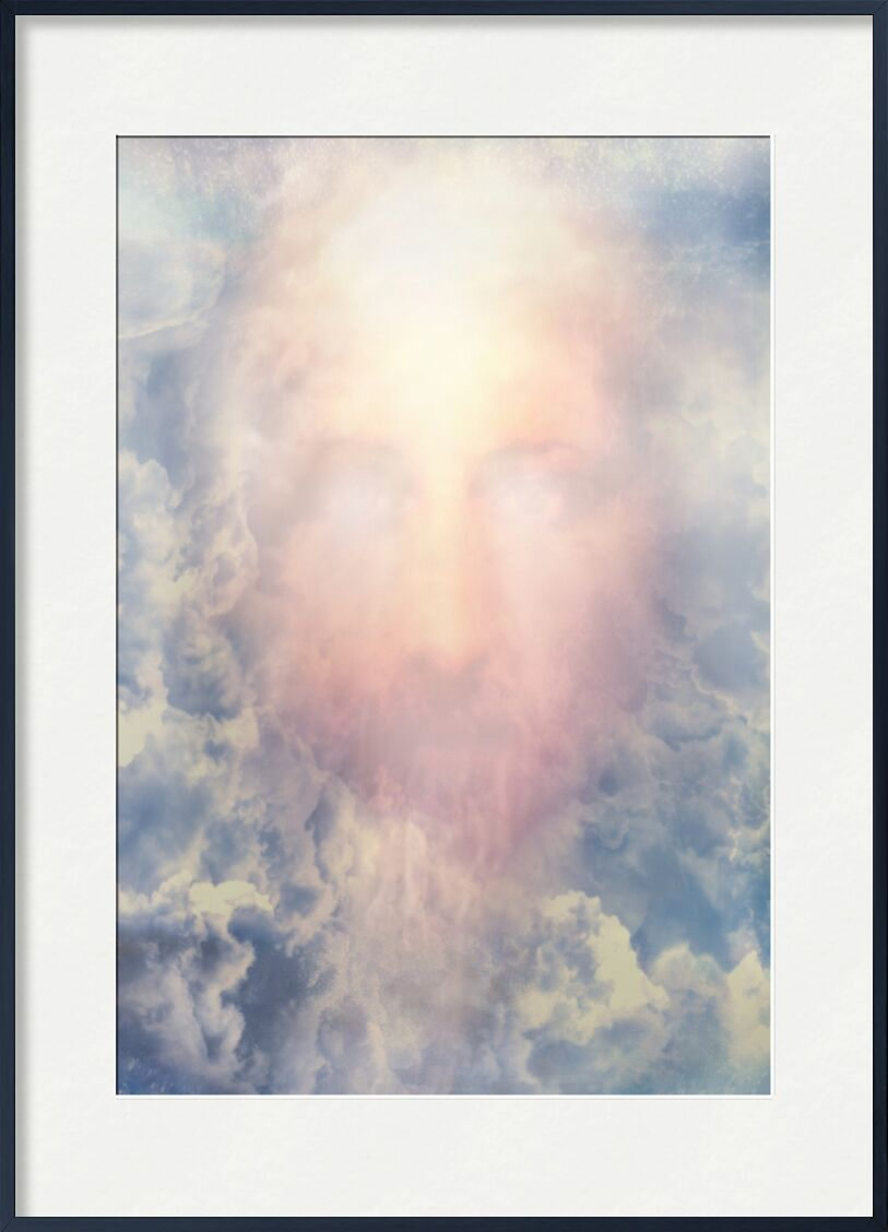 The Messiah in glory from Adam da Silva, Prodi Art, God, kingdom, Prophet, glory, Messiah, christ, Jesus, smile, paradise, sky, face, blue, clouds