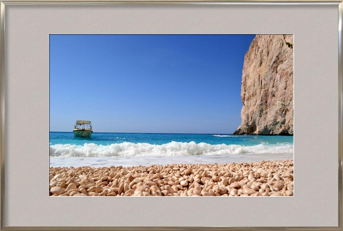 Ocean from Aliss ART, Prodi Art, motorboat, water, sky, seashore, seascape, sea, rocks, outdoors, ocean, leisure, island, boat, beach