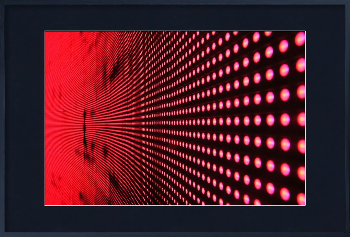 Light from Aliss ART, Prodi Art, ilight, art, bright, close-up, color, design, digital, gradient, light, lights, line, luminescence, modern, pattern, red, technology, texture, wall, big data, round, structure