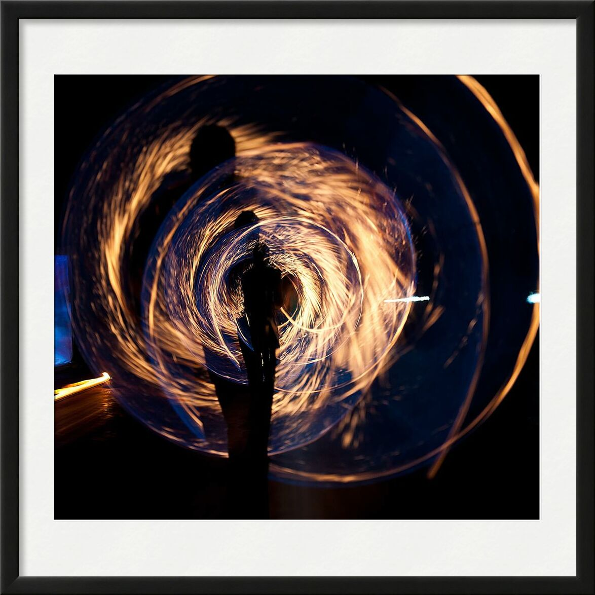 Chaleur from Aliss ART, Prodi Art, abstract, art, burnt, color, dark, design, energy, fantasy, fire, flame, graphic, heat, hot, human, illuminated, light, long-exposure, motion, night, ring, round, show, smoke
