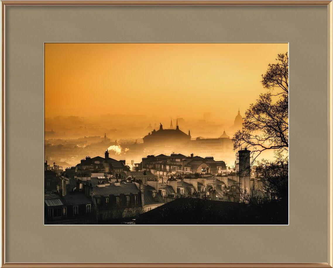 Capitale sous le brouillard from Aliss ART, Prodi Art, architecture, buildings, cathedral, church, city, cityscape, dawn, dusk, fog, foggy, mist, morning, murky, outdoors, Paris, silhouette, sky, skyline, town, travel, Urban, hazy, misty, silhouettes