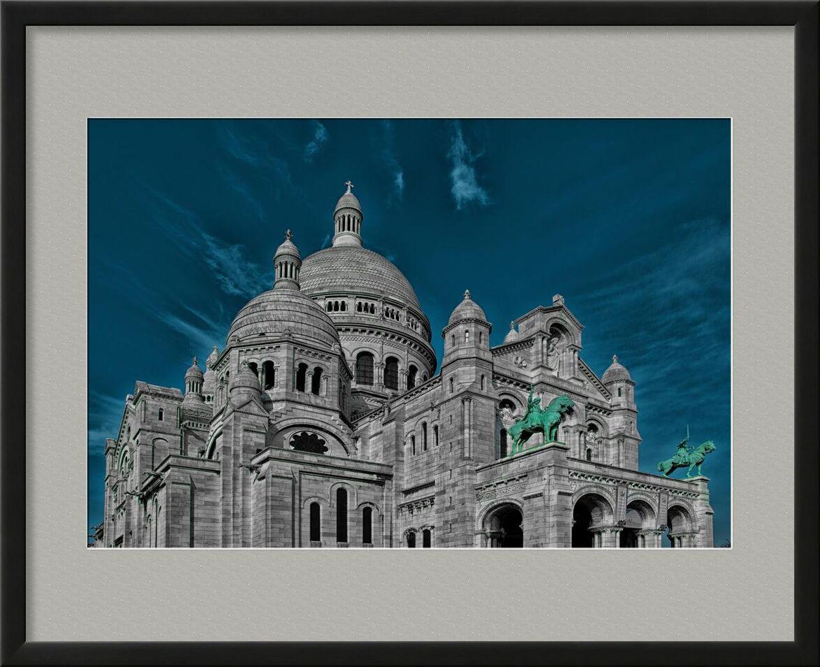The heart of Paris from Aliss ART, Prodi Art, Basilica of the Sacred Heart of Paris, Paris, France, church