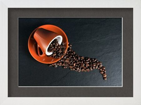 The cup and its grains from Pierre Gaultier, VisionArt, Art photography, Framed artwork, Prodi Art