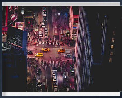 New-York by night from Caro Li, Prodi Art, Art photography, Framed artwork, Prodi Art