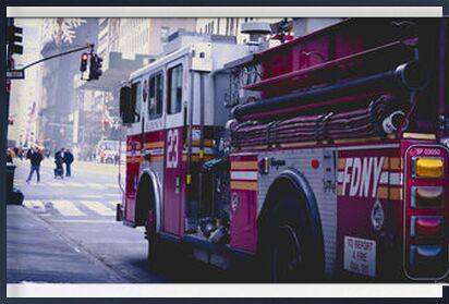 Fire Truck from Caro Li, Prodi Art, Art photography, Framed artwork, Prodi Art