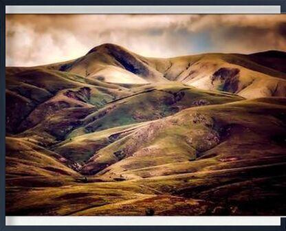 Hilly landscape from Pierre Gaultier, Prodi Art, Art photography, Framed artwork, Prodi Art