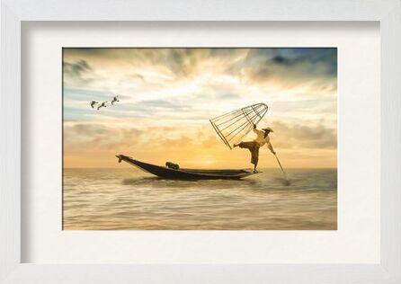The fisherman from Pierre Gaultier, Prodi Art, Art photography, Framed artwork, Prodi Art