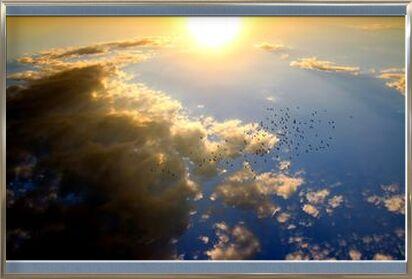 Flying over the Sun from Pierre Gaultier, Prodi Art, Art photography, Framed artwork, Prodi Art
