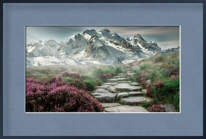 Mountain path from Pierre Gaultier, Prodi Art, Art photography, Framed artwork, Prodi Art